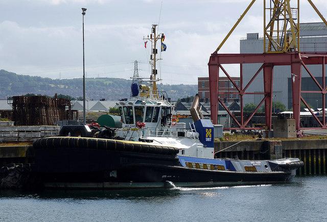 Tug 'Smit Tiger' at Belfast