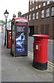 SD7109 : Silverwell Street | Silverwell St / Bradshawgate postbox (ref. BL1 2020 and 202)  by Alan Murray-Rust