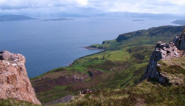 Summit view, Dun Caan
