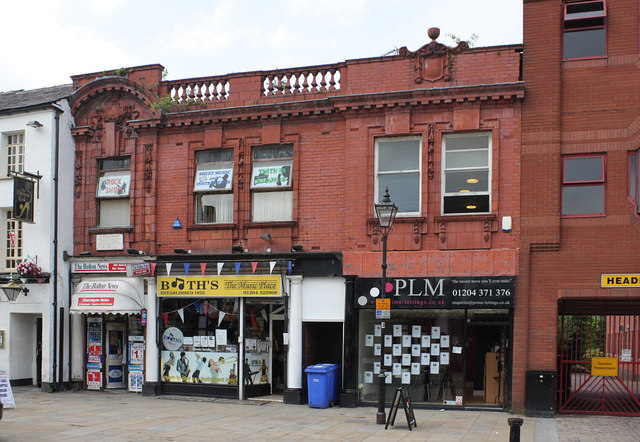 Shops, 17-19 Churchgate, Bolton