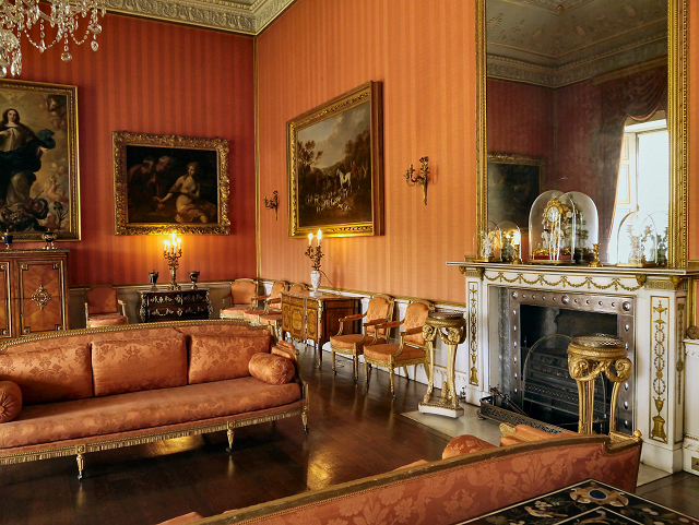 The Red Drawing Room Shugborough Hall 169 David Dixon Cc By