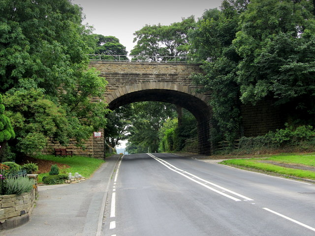 The Railway Bridge in Arthington