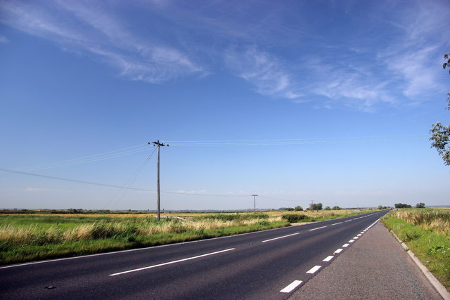 A47 looking west towards Acle/Norwich