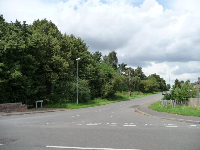 The southern end of Cloot Drove