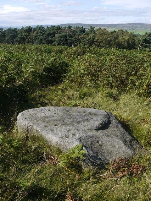 Barmishaw Stone, Ilkley Moor
