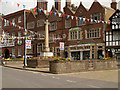 TQ0107 : War Memorial, Arundel High Street by David Dixon
