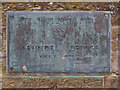 TQ0107 : Plaque on Arundel Bridge by David Dixon