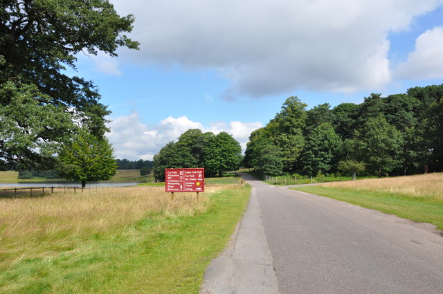 Tatton Park, the road to the Mansion