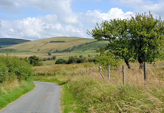 Minor road east of Nantgwyn