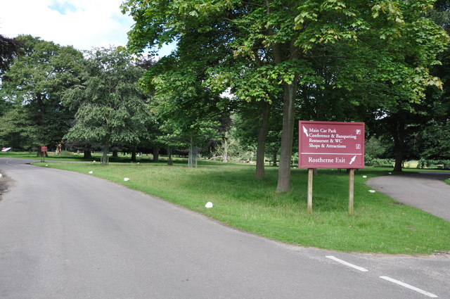 Tatton Park, approaching the Mansion