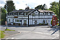 SN9874 : The Mid Wales Inn, Pant-y-dwr by Nigel Brown