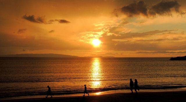 Sunset, Portrush