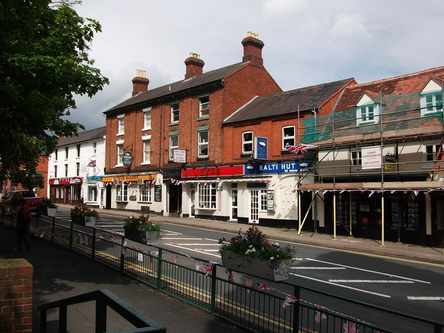 Balti Hut, Efes takeaway and Southam Bakers, High Street, Southam