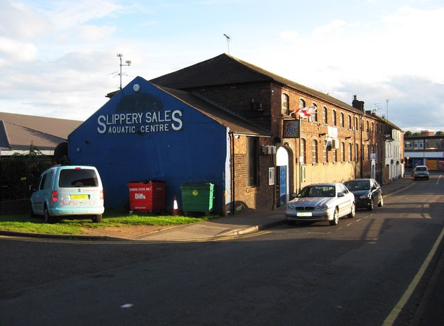 Slippery Sales Aquatic Centre and Three Lions, 11-12 Foundry Street, Stourport-on-Severn