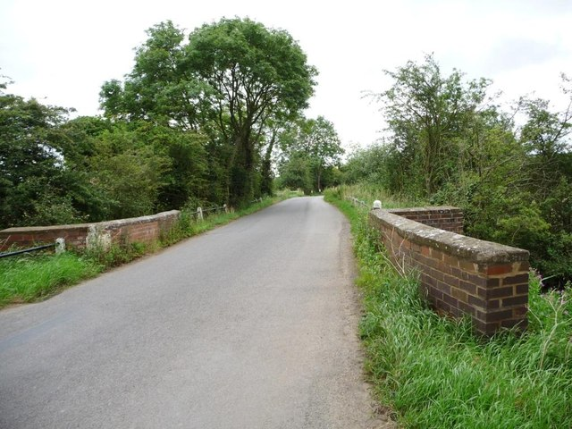 Small bridge on Seaton Road