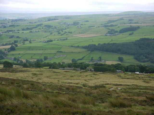 Circular feature, Midgely Moor