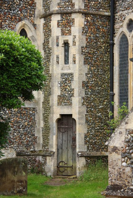 St Mary, Pakenham - Tower doorway