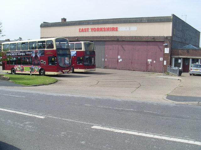 East Yorkshire Bus Depot, Hornsea