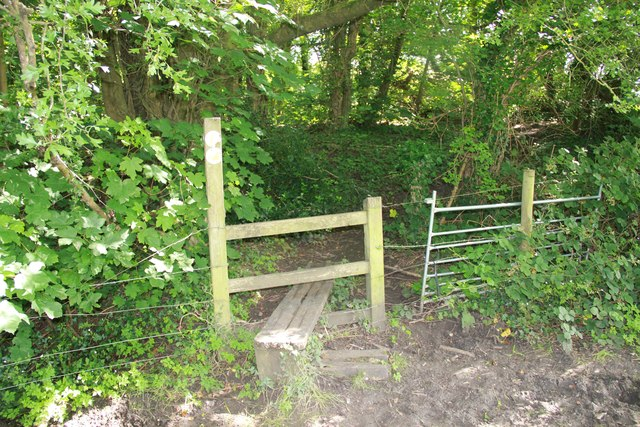 Stile in Chedworth