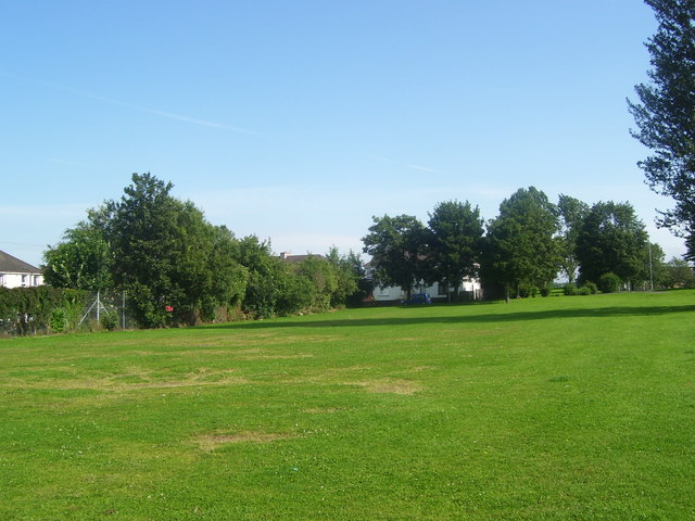 Grassed area near Roman Road