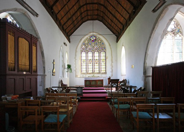 St Peter & St Paul, Newchurch - Chancel