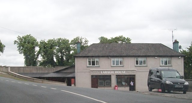 Laragh House Store and Public Bar in the hamlet of Laragh