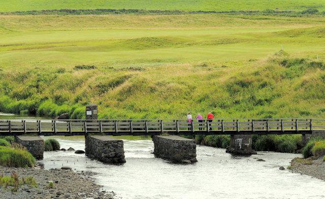 The Three Quarter Bridge, Portballintrae (1)