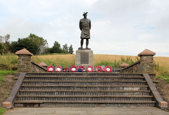 Black Watch memorial, Powrie Brae, Dundee
