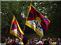 TQ2879 : Tibetan Flags by Colin Smith
