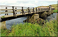 C9342 : The Three Quarter Bridge, Portballintrae (2) by Albert Bridge