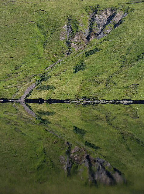 Reflections on Megget Reservoir
