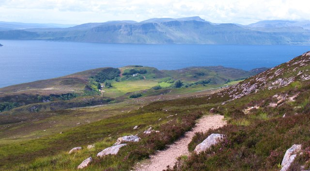 Raasay hill path