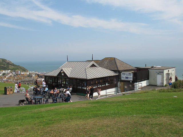 Cafe and toilets on West Hill
