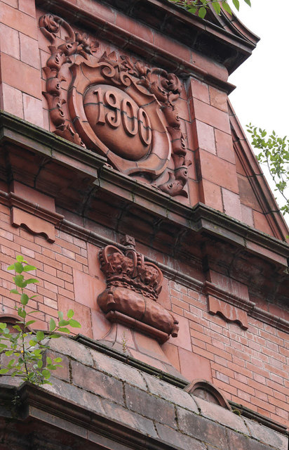 Former Crown and Cushion pub detail 1