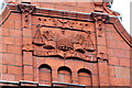 SD7109 : St Georges House - detail 2 by Alan Murray-Rust