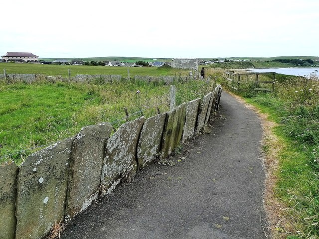 Cliff-Top Path at Thurso