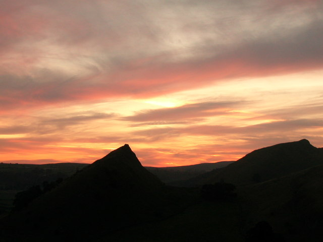 High Wheeldon on a fiery backdrop