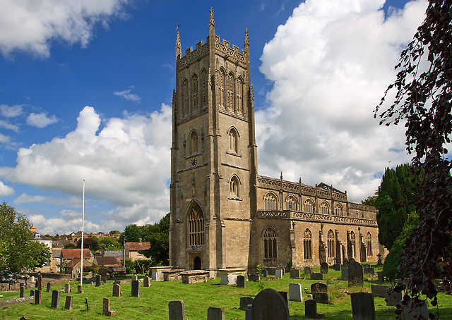 St Mary's church, Bruton