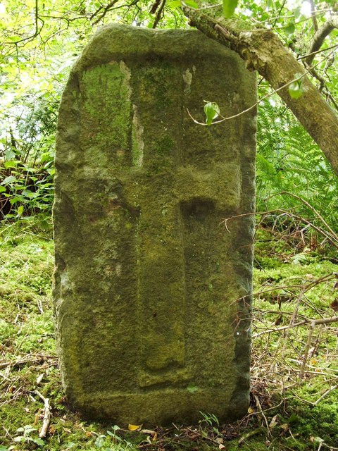 Ancient cross slab