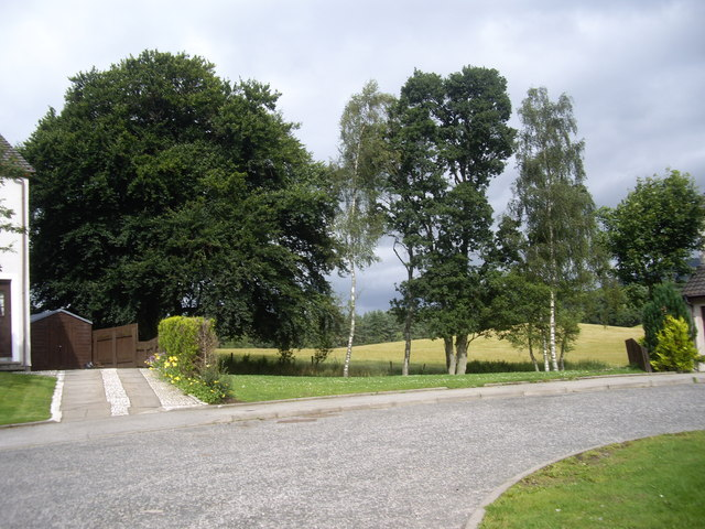 North end of Bellwood Drive, Aboyne