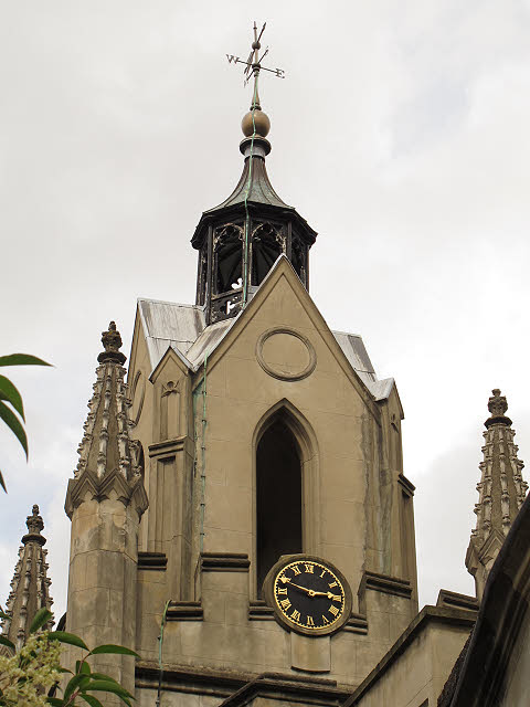 St Mary Magdalen, Bermondsey :  clock