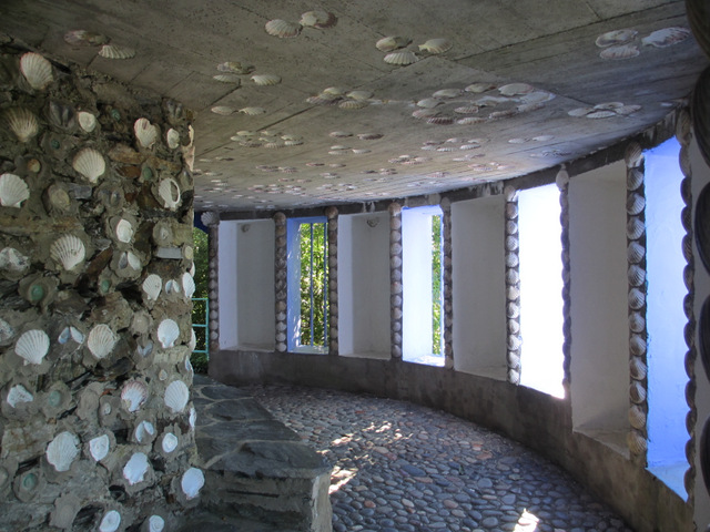 Inside the Shell Grotto