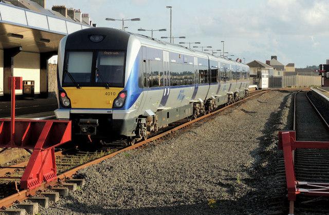 Train, Portrush (2012-1)