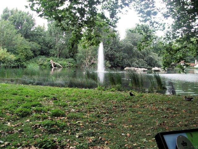 Fountain, St James Park