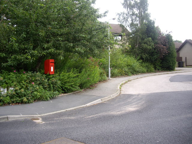 Postbox in Carnferg View, Aboyne