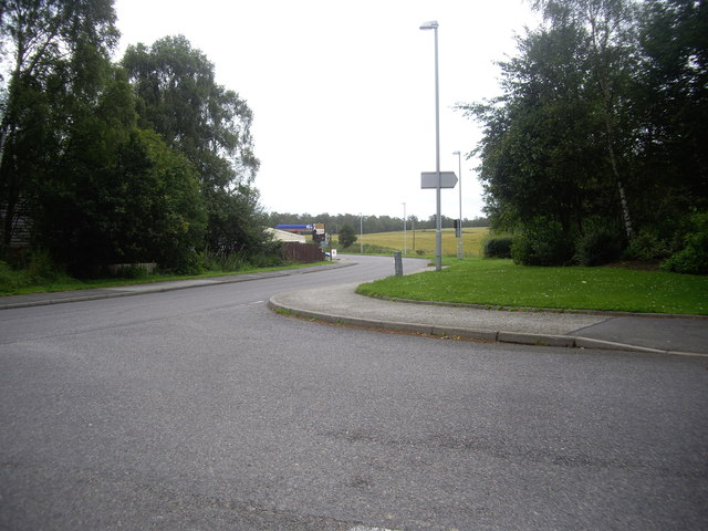 Filling Station by A93 at Aboyne