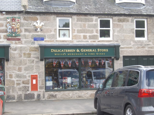 A part of Strachan's of Royal Deeside in Aboyne