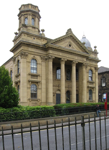 Heckmondwike - Upper Independent Chapel (from SW)