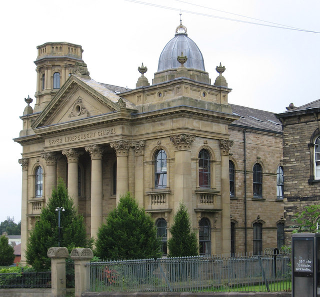 Heckmondwike - Upper Independent Chapel (from SE)
