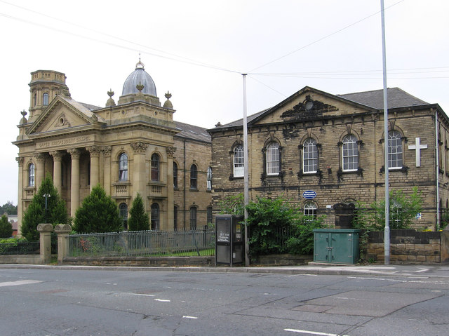 Heckmondwike - Independent Chapel and Schools